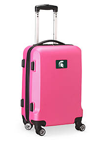 Michigan State 20-in. 8 wheel ABS Plastic Hardsided Carry-on