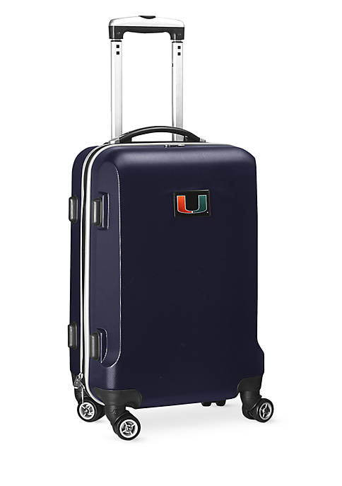 Miami 20-in. 8 wheel ABS Plastic Hardsided Carry-on