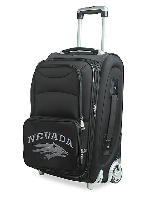 Denco NCAA Nevada 20-in. Softsided Rolling Luggage Carry-on