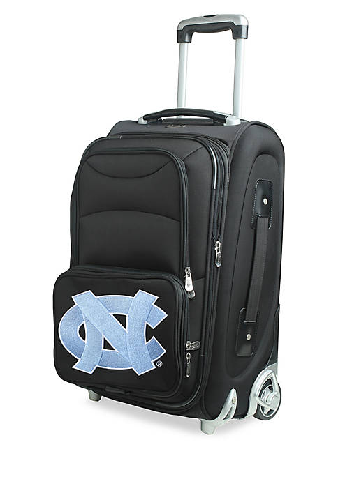 Denco NCAA North Carolina Luggage Rolling 21-in. Carry-On