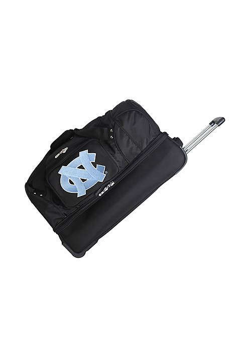 Denco NCAA North Carolina 27-in. Wheeled Duffel Nylon