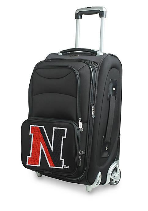 Denco NCAA Northeastern 22-in. Rolling Bottom Duffel