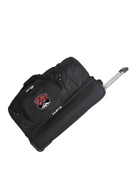 Denco NCAA UNLV 27-in. Wheeled Duffel Nylon Bag