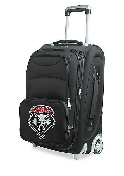 Denco NCAA New Mexico Luggage Carry-On 21-in. Rolling