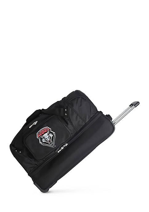 Denco NCAA New Mexico Wheeled Duffel Nylon Bag