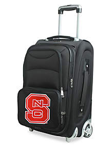 Denco NCAA North Carolina State Luggage Carry-On 21-in. Rolling Softside Nylon