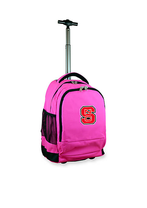 North Carolina State Premium Wheeled Backpack