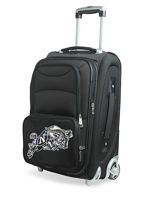 Denco NCAA US Naval Academy Luggage Carry-On 21-in.