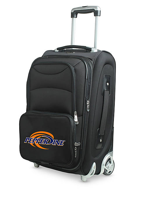Denco NCAA Pepperdine 22-in. Wheeled Duffel Nylon Bag