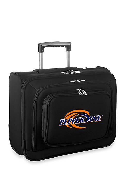 Denco NCAA Pepperdine Overnighter Bag in Black