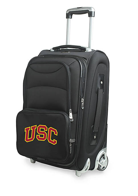 Denco NCAA Southern California Luggage Carry-On 21-in. Rolling