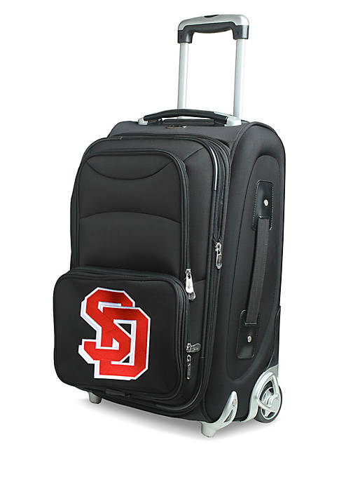 Denco NCAA South Dakota Luggage Carry-On 21-in. Rolling