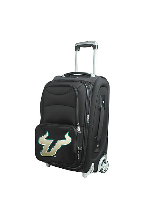 Denco NCAA South Florida Luggage Carry-On 21-in. Rolling