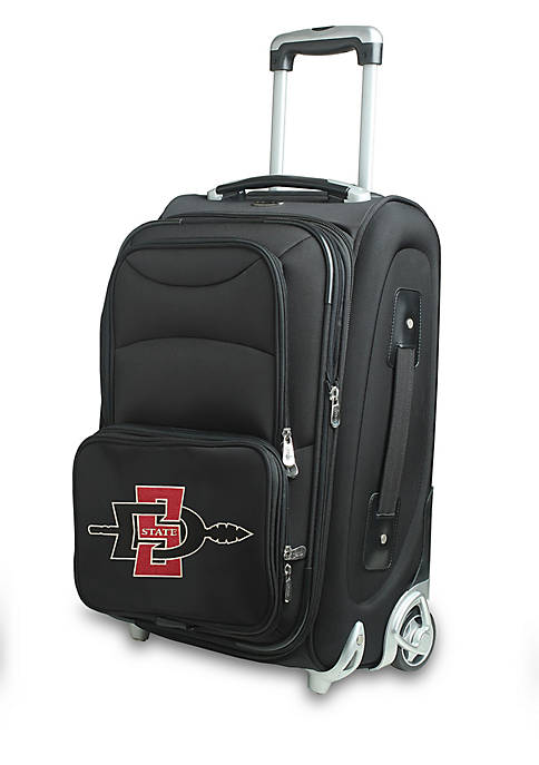 Denco NCAA San Diego State Luggage Carry-On 21-in.