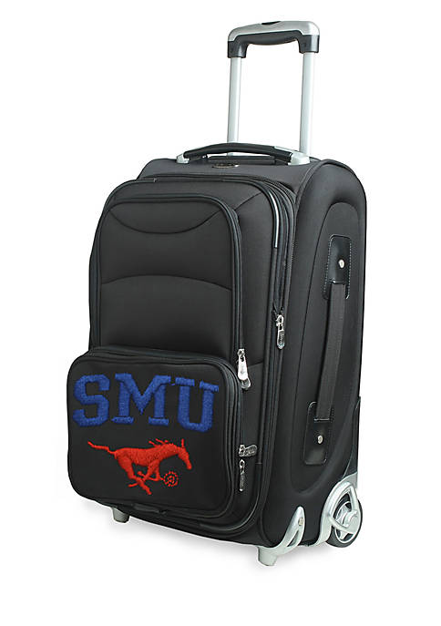 Denco NCAA Southern Methodist Luggage Carry-On 21-in. Rolling