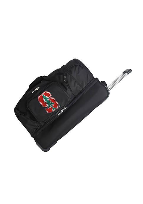 NCAA Stanford Wheeled Duffel Nylon Bag
