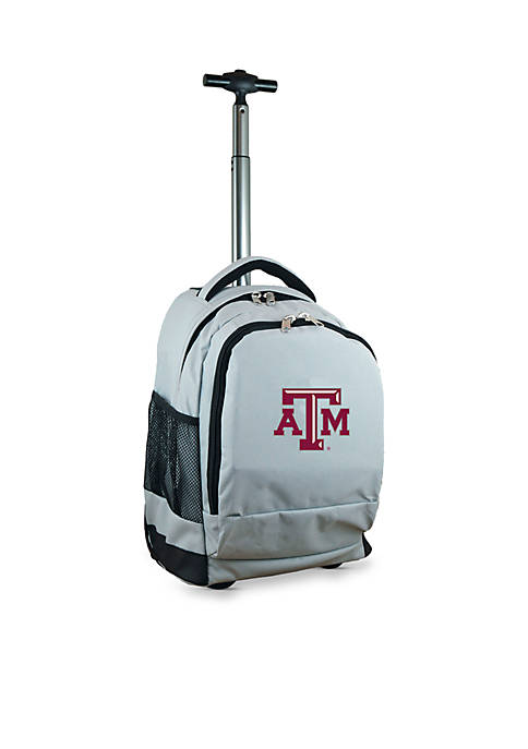 Texas A&M Premium Wheeled Backpack