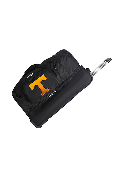 Denco NCAA Tennessee Wheeled Duffel Nylon Bag