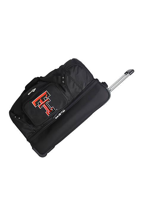 NCAA Texas Tech Wheeled Duffel Nylon Bag