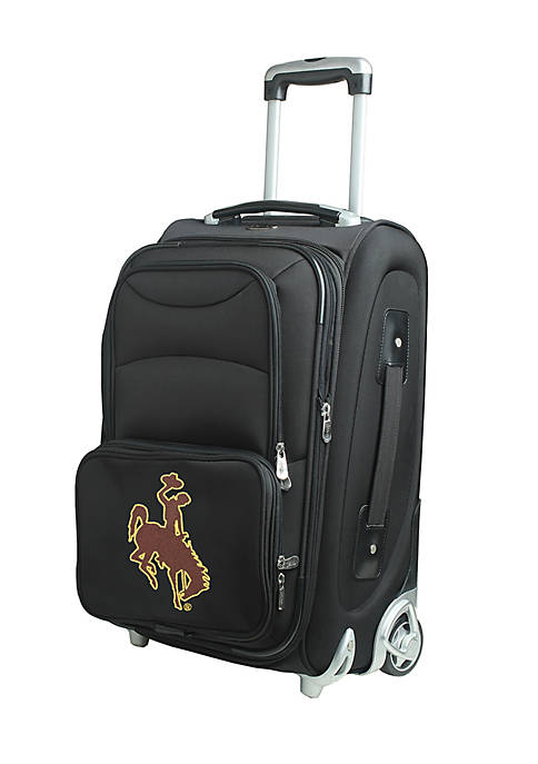 Denco NCAA Wyoming Luggage Carry-On 21-in. Rolling Softside