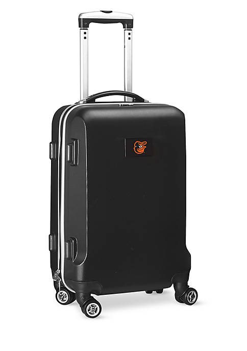 Baltimore Orioles 20-in. 8 wheel ABS Plastic Hardsided Carry-on