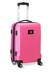 Denco Baltimore Orioles 20-in. 8 wheel ABS Plastic Hardsided Carry-on