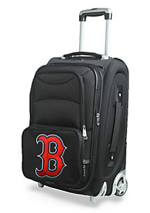 MLB Boston Red Sox  Luggage Carry-On Rolling Softside Nylon Bag