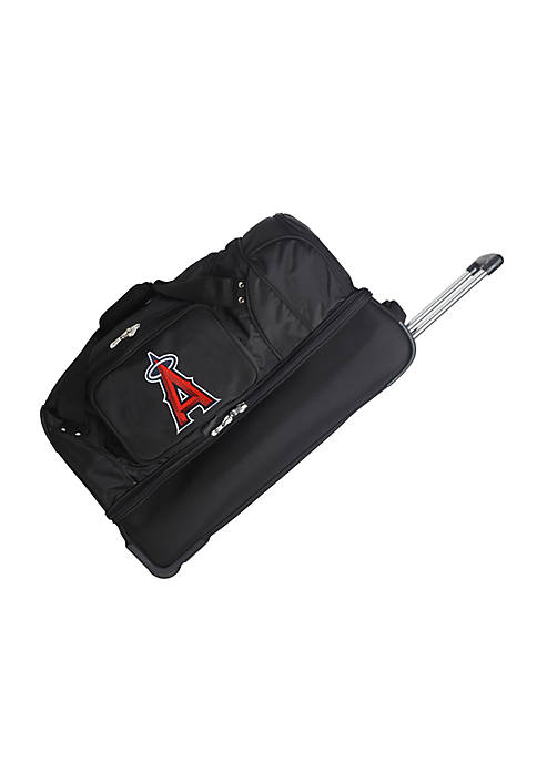 Denco MLB Los Angeles Angels 27-in. Wheeled Duffel