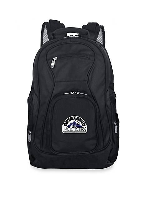 Denco Colorado Rockies Premium 19-in Laptop Backpack