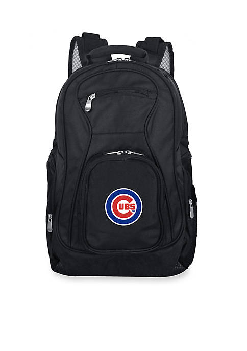 Denco Chicago Cubs Premium 19-in. Laptop Backpack