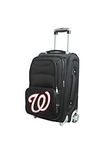 MLB Washington Nationals  Luggage Carry-On Rolling Softside Nylon Bag