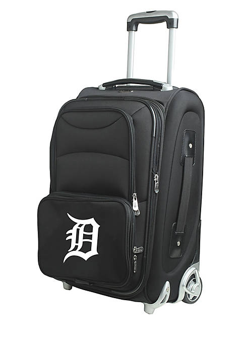 Denco MLB Detroit Tigers Luggage Carry-On 21-in. Rolling