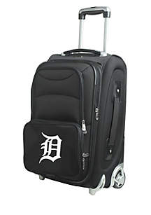 MLB Detroit Tigers Luggage Carry-On 21-in. Rolling Softside Nylon in Black