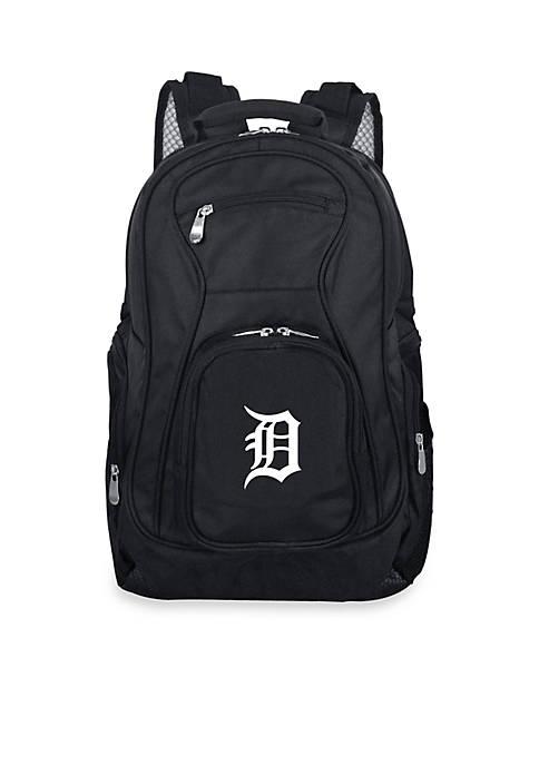 Denco Detroit Tigers Premium 19-in. Laptop Backpack