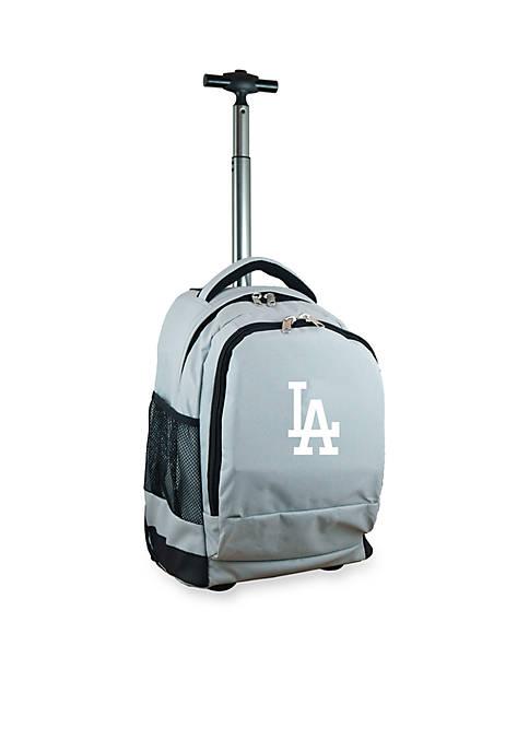 Mojo Los Angeles Dodgers Premium Wheeled Backpack