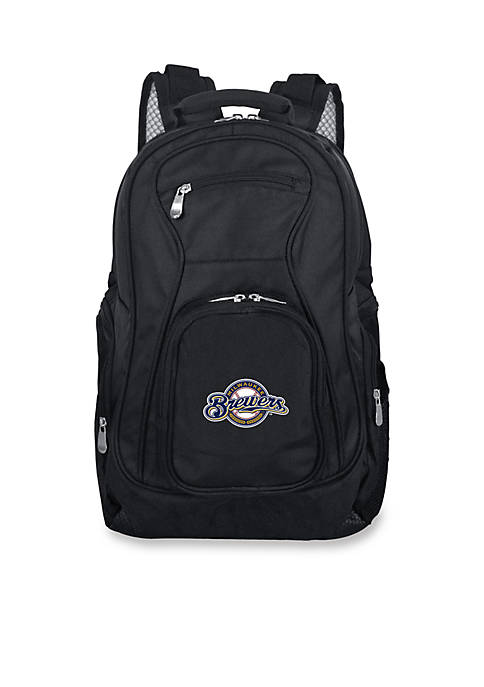 Denco Milwaukee Brewers Premium 19-in. Laptop Backpack