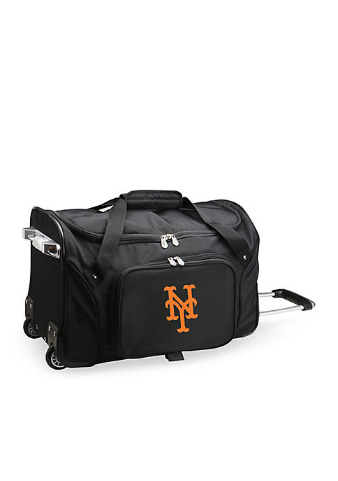 Denco MLB New York Mets 27in Wheeled Duffel