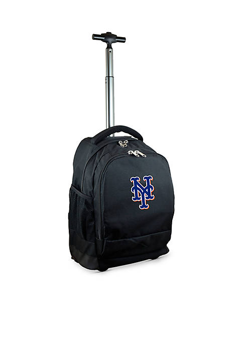 Mojo New York Mets Premium Wheeled Backpack
