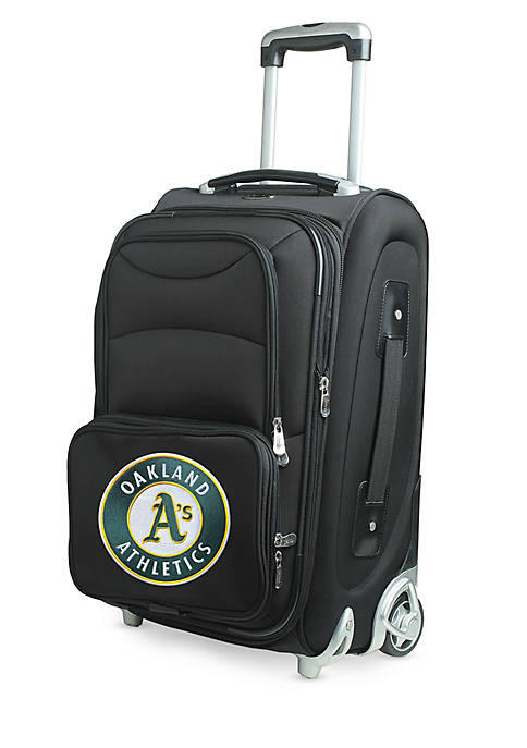 Denco MLB Oakland As Luggage Carry-On 21in Rolling