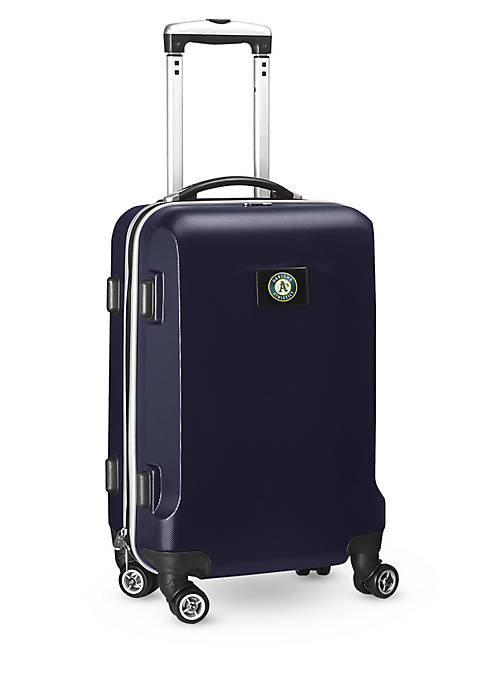 Oakland As 20-in. 8 wheel ABS Plastic Hardsided Carry-on
