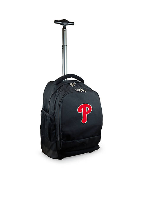 Mojo Philadelphia Phillies Premium Wheeled Backpack
