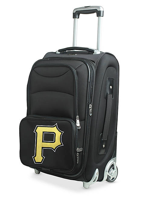 Denco MLB Pittsburgh Pirates Luggage Rolling Carry-On