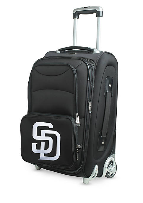Denco MLB San Diego Padres Luggage Rolling Carry-On