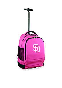 Mojo San Diego Padres Premium Wheeled Backpack