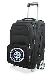 Denco MLB Seattle Mariners Luggage Rolling Carry-On
