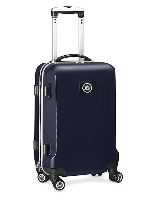 Seattle Mariners 20-in. 8 wheel ABS Plastic Hardsided Carry-on