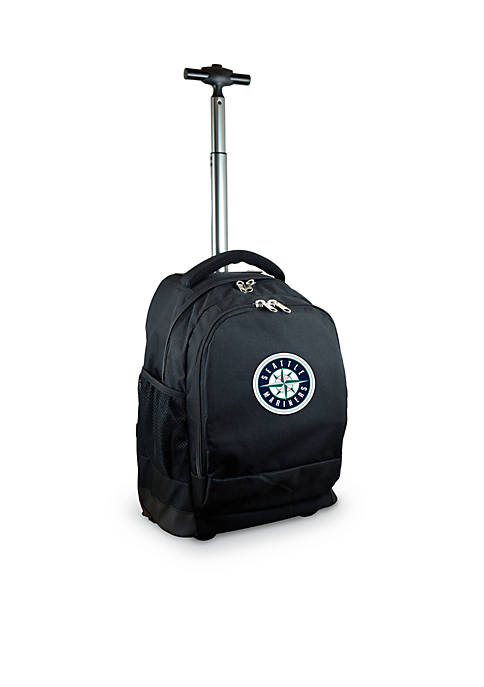 Mojo Seattle Mariners Premium Wheeled Backpack