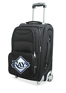 MLB Tampa Bay Rays Luggage Rolling Carry-On