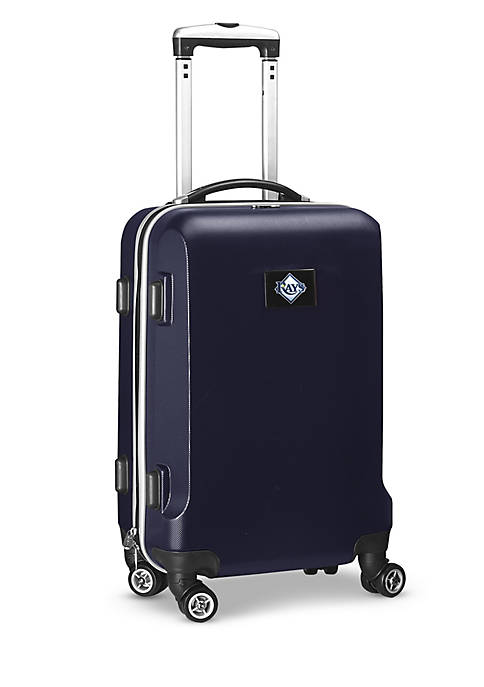 Tampa Bay Rays 20-in. 8 wheel ABS Plastic Hardsided Carry-on