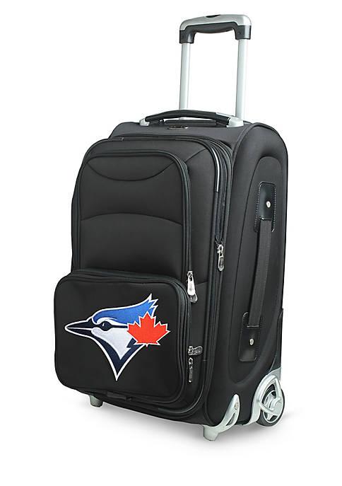 Denco MLB Toronto Blue Jays Luggage Rolling Carry-On